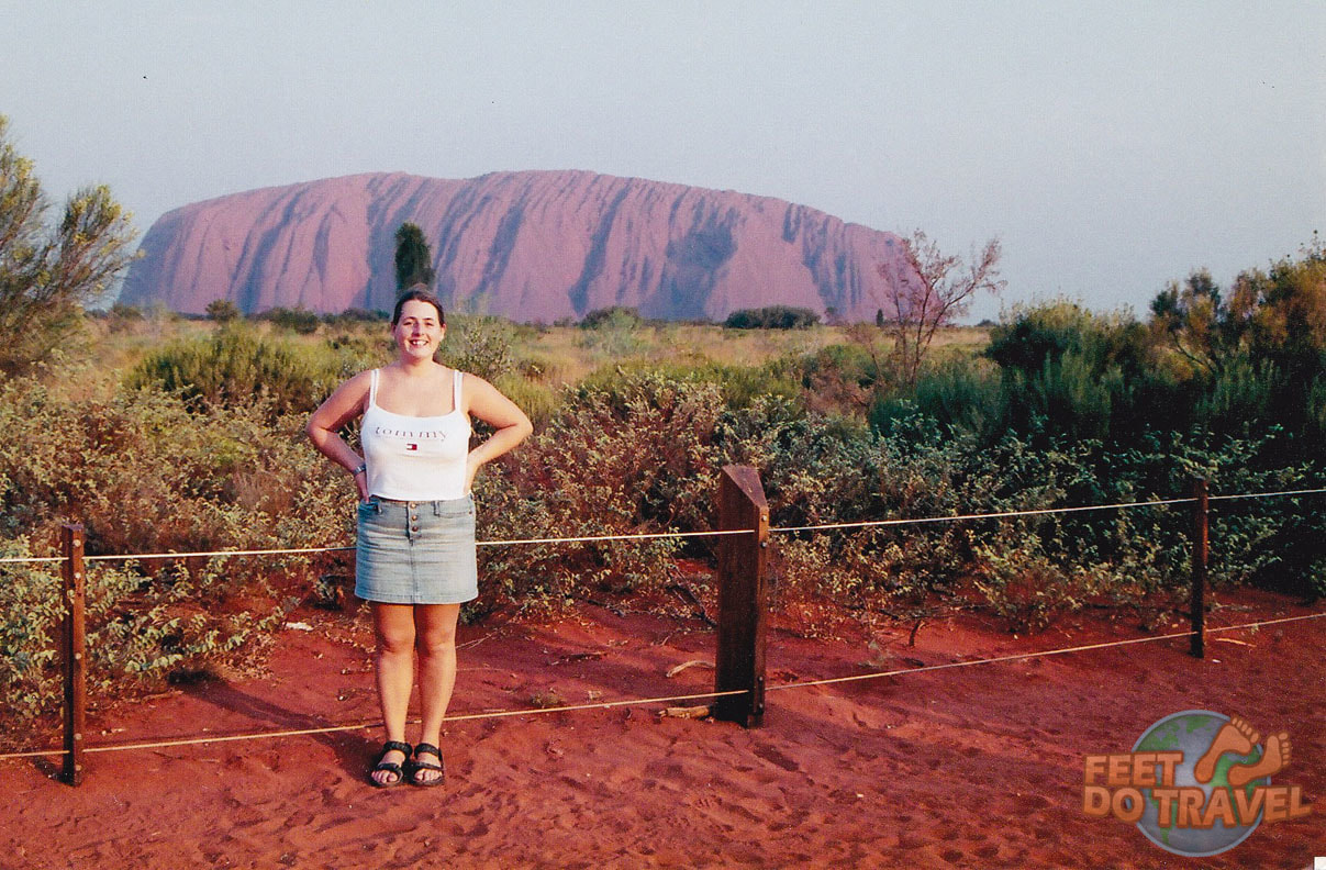 Sunset at Uluru The Red Heart of Australia
