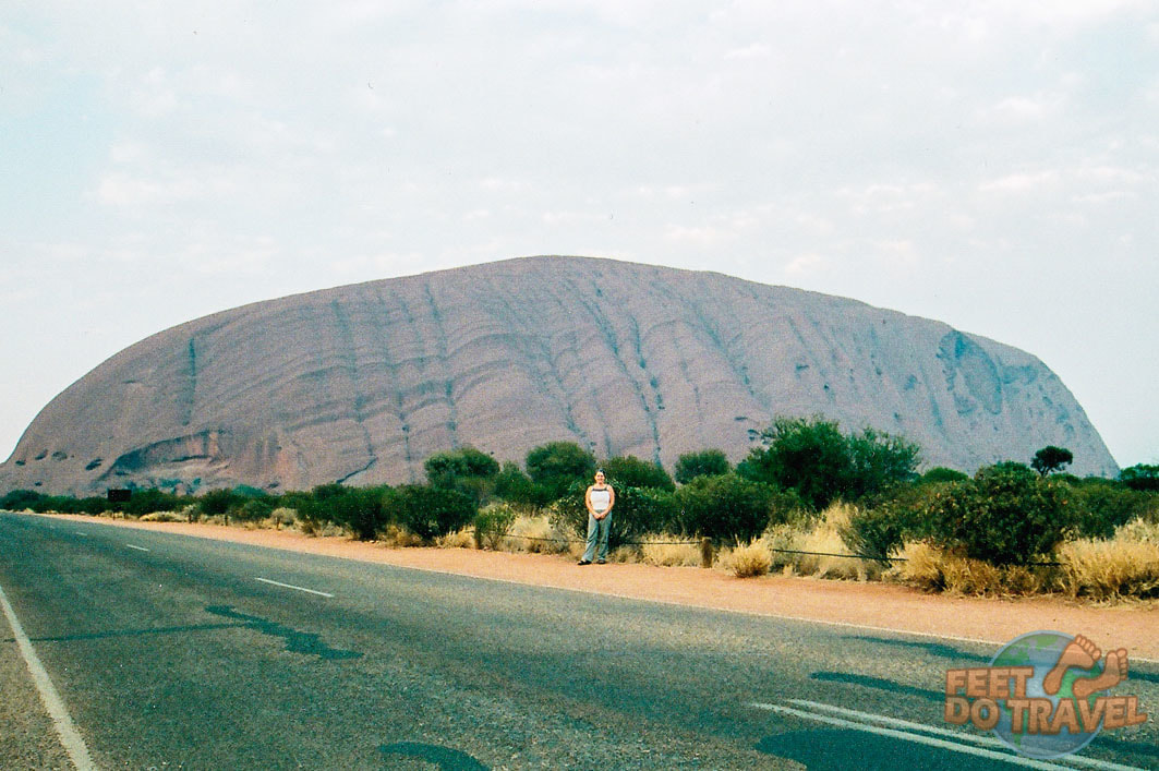 Sunrise at Uluru is when you can see the rock's true colours in the Red Heart of Australia