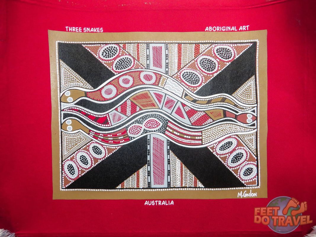 Aboriginal Art is an important part of Anangu culture. Uluru The Red Heart of Australia