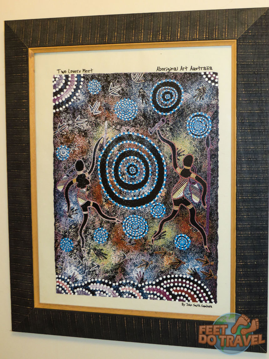 Aboriginal Art from Uluru The Red Heart of Australia