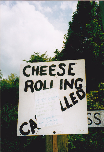 Cheese Rolling cancelled!