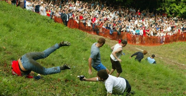 Head over heals for Cheese Rolling