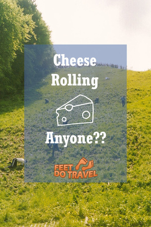 Ever heard of the annual Cheese Rolling event in the UK? Find out more ...