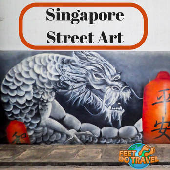 Singapore Street Art, Urban Art, Chinatown Little India, Insta-worthy Mural Art, SG50, Feet Do Travel