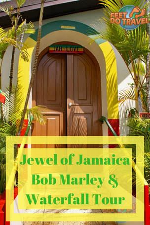 The Jewel of Jamaica, but what is it? Bob Marley's birthday is February and he died in May. We visited his birthplace, Nine Mile & Dunn's River Falls, let us share with you the jewel of #jamaica #bobmarley #dunnsriverfalls #dunnsriver #ninemile
