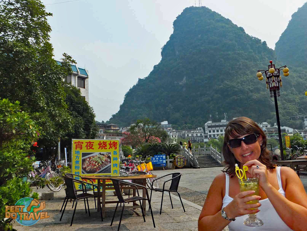 3 days in Guilin and Yangshuo, China, Li River, Limestone Karst hills, Shanghai, Liu San Jie Impression Night Light Show, Reef Flute Cave, Fubo Hill, Cormorant Fishing