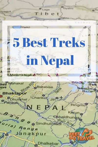 Many hikers believe Nepal has the best treks in the world. If you are heading to Nepal to trek, do you know which route to pick? Annapurna circuit, Mount Everest Base Camp, Manaslu region, Kanchenjunga Region or Upper Mustang? Feet Do Travel help you pick your route from 5 best treks in Nepal. #trek #trekking #hike #hiking #nepal #everest #mounteverest #everestbasecamp #adventure #mountain #travel #travelblog #travelblogger