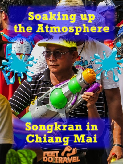#Songkran Festival celebrates a new year in #Thailand. Any festival is a special occasion - but what if it means spending days either soaking revellers or being soaked? This is a multi-city water fight, and we were at the heart of it in #ChiangMai