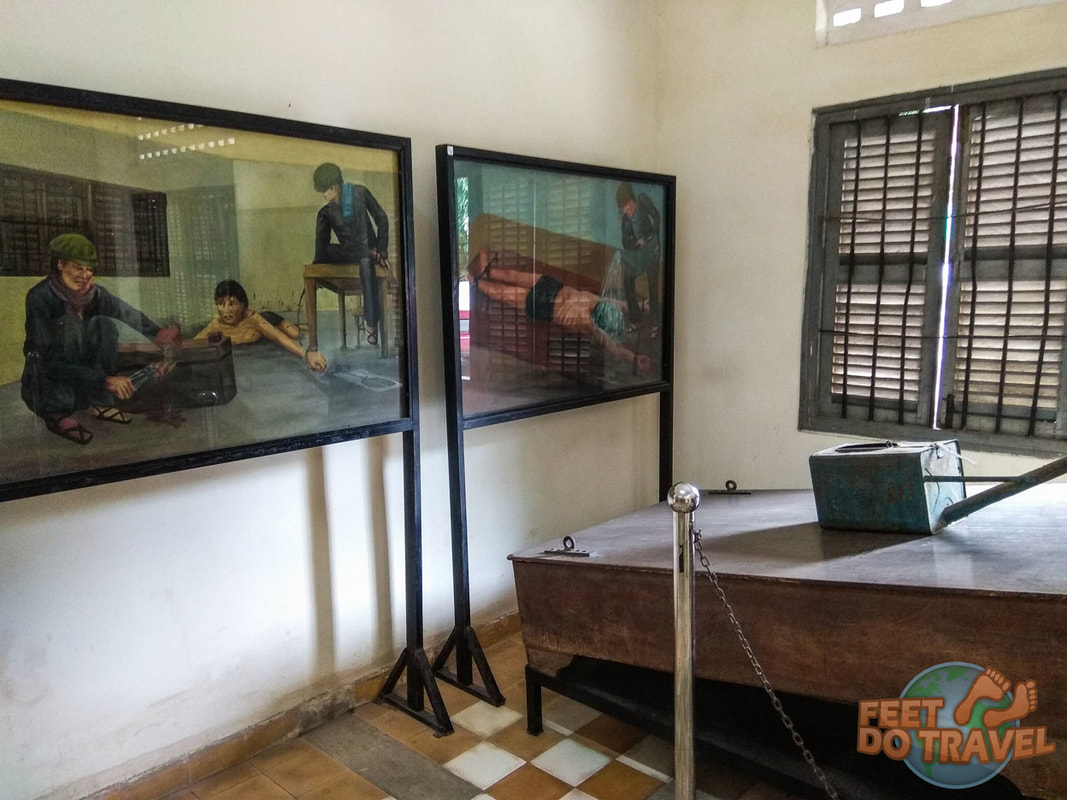 Cambodia Genocide,Pol Pot, Khmer Rouge, S21 Prison Tuol Slengh Museum, Killing Fields, Phnom Penh