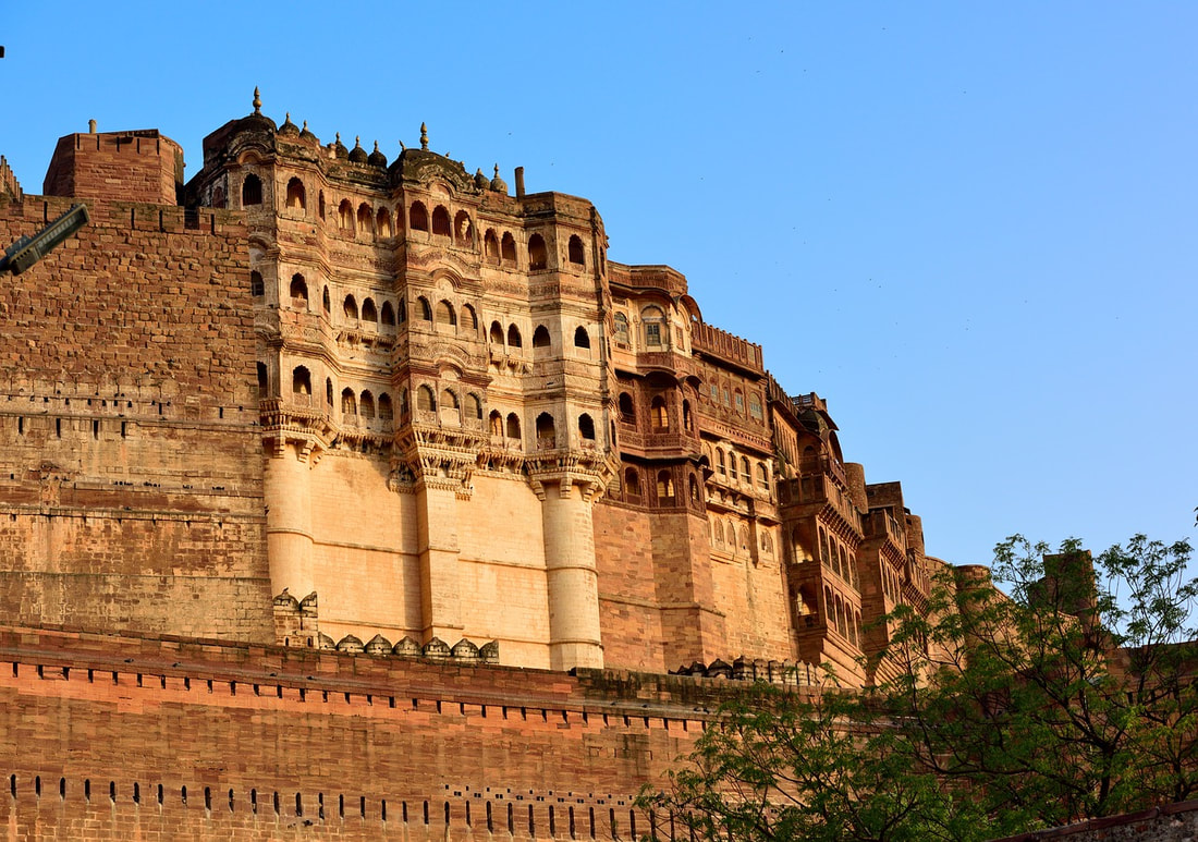 7 Most Haunted Places in Rajasthan, Chittorgarh, Dudu Village, Nahargarh Fort, Brij Raj Bhavan, Kuldhara Town, Jagatpura, Bhangarh Fort, Feet Do Travel