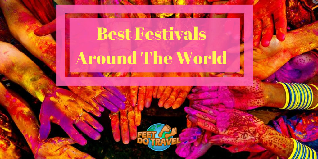 Best Festivals Around the World with Feet Do Travel, Oktoberfest beer festival, Rio Carnival, Glastonbury music festival, Burning Man