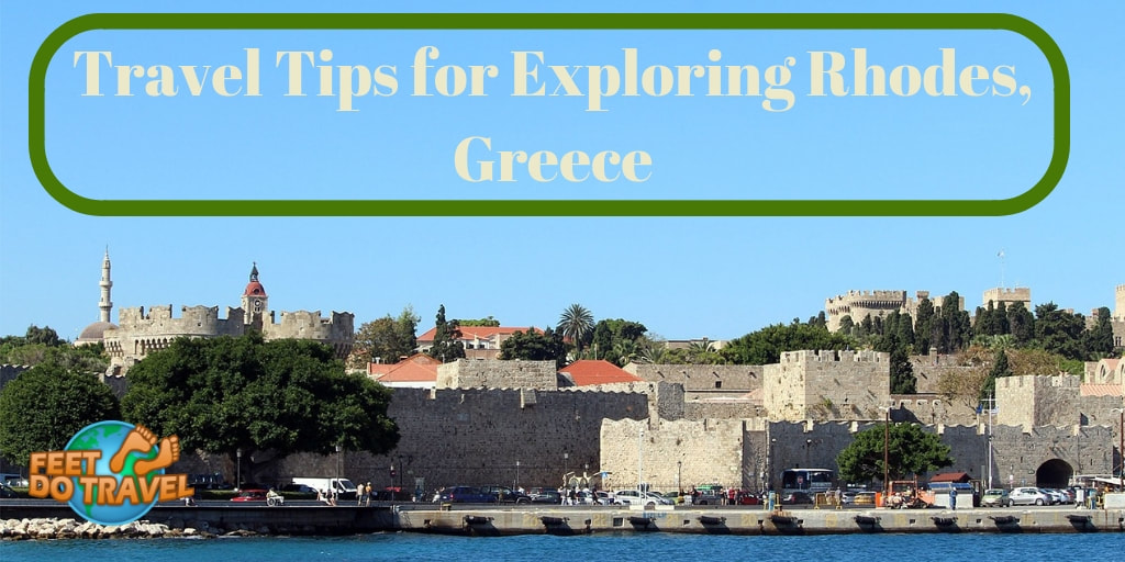 Travel Tips for Exploring Rhodes, Greece, Lindos, Old Town, Feet Do Travel