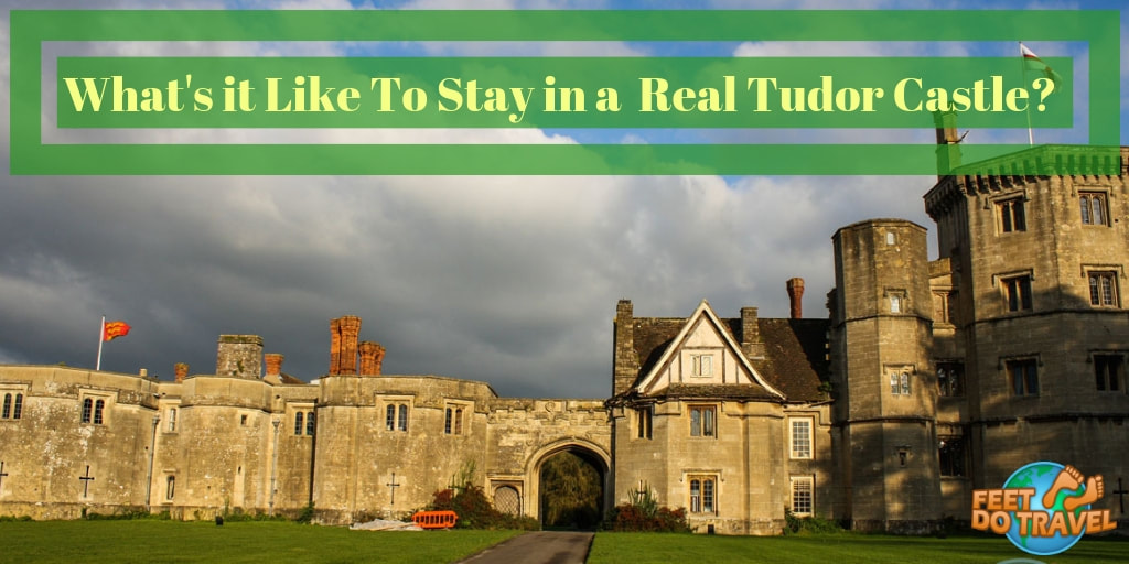 What's it like to stay in a real Tudor Castle Hotel in England, Henry VII Castle, Thornbury Castle Hotel, Feet Do Travel