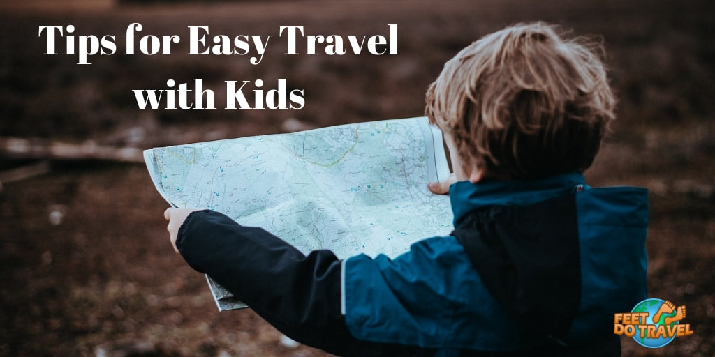 Tips for easy travel with your kids, feet do travel