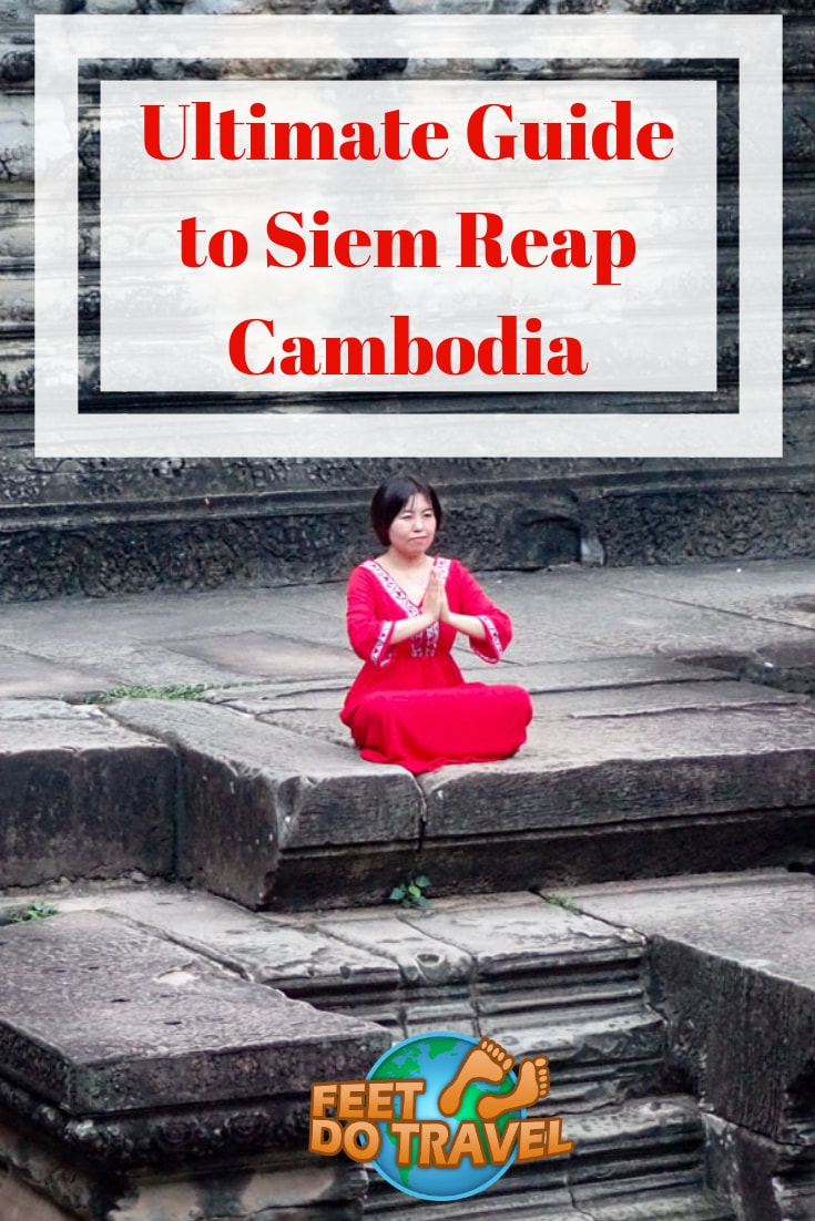 Siem Reap, Cambodia has many things to do beyond the Angkor Wat temples. A historic City, Feet Do Travel tell you things to do in Siem Reap on a budget, at night, and where to eat. This is your ultimate travel guide to Siem Reap.#Cambodia #SiemReap #travel #itinerary #guide #Angkor #AngkorWat #travelblog #travelblogger #traveltips #travelling #travelguides #traveladvice #thingstodo #budgettravel #travelguide #sightseeing