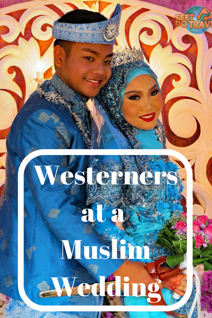 Ever wondered how different cultures celebrate marriage, and what it would like to be a guest? When we were in Kuching, Malaysia, Borneo, we were unexpectedly welcomed into a Muslim Wedding. We share this amazing experience with you. #kuching #malaysia #borneo #sarawak #citytour #cyclingtour #muslim #travel #travelblog #travelblogger #traveltips #travelling