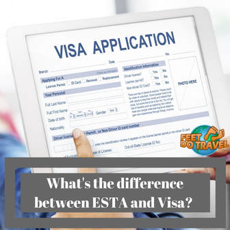 What is the difference between an ESTA and Visa